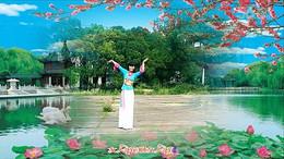 萍乡绿茵广场舞《好一朵女人花》编舞艺子龙 正背面演示