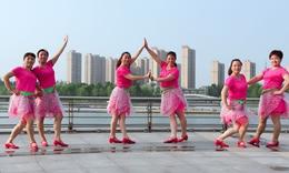 青儿广场舞《爱情说来就来》原创大众抒情健身舞 附正背面口令分解教学演示