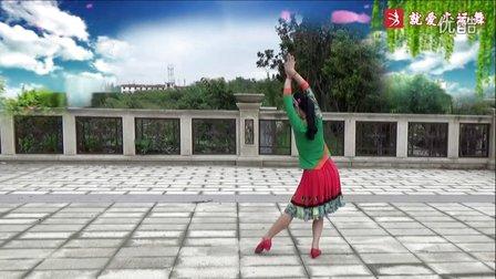 謝春燕廣場舞《美麗云南》原創傣族舞蹈 附正背面口令分解教學演示