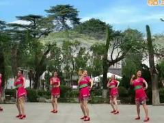 刘荣广场舞《醉在花海》原创舞蹈 附正背面口令分解教学演示