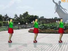 鄂州益馨舞蹈《唱着情歌流着泪》原创舞蹈 附正背面口令分解教学演示
