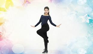 糖豆广场舞课堂《扭一下》编舞范范 附正背面口令分解教学演示
