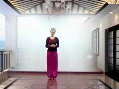 应子广场舞《傣家姑娘》原创舞蹈 附正背面口令分解教学演示
