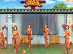 龙城依诺广场舞《新年快乐新年吉祥》原创手绢舞 附正背面口令分解教学演示