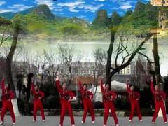 刘荣广场舞《开门红》原创舞蹈 附正背面口令分解教学演示