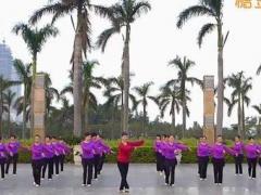 李琦广场舞《愿做菩萨那朵莲》原创团队版 附正背面口令分解教学演示