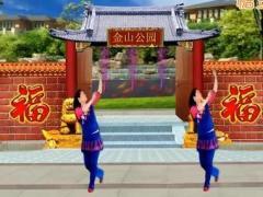 舞蝶广场舞《幸福吉祥年》原创舞蹈 附正背面口令分解教学演示