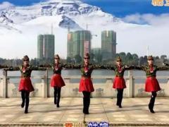 春英廣場舞《雪山姑娘》原創水兵舞 附正背面口令分解教學演示