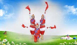 糖豆广场舞课堂《美丽内蒙古》编舞桃子 附正背面口令分解教学演示