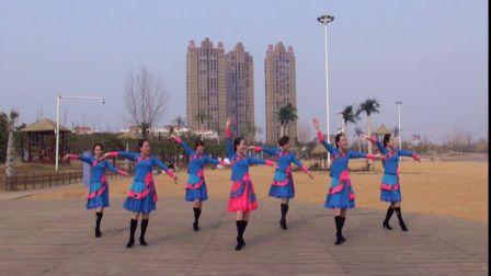 美久广场舞《一辈子这样爱你》原创舞蹈 附正背面口令分解教学演示