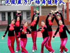 沅陵燕子廣場舞《我愛廣場舞》原創舞蹈 附正背面口令分解教學演示
