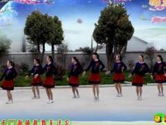 惠汝广场舞《临洮姑娘花一样》原创舞蹈 附正背面口令分解教学演示