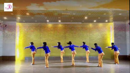美久广场舞《迎酒欢歌》原创舞蹈 附正背面口令分解教学演示