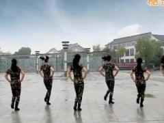 太湖一莲广场舞《美丽的遇见》原创水兵舞 附正背面口令分解教学演示