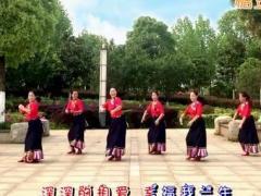 応子广场舞《牵手今生》原创舞蹈 附正背面口令分解教学演示
