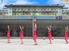 重庆叶子广场舞《月朦胧鸟朦胧》原创三步舞 附正背面口令分解教学演示
