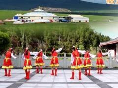 凤凰六哥广场舞《我还在草原等你》原创舞蹈 附正背面口令分解教学演示