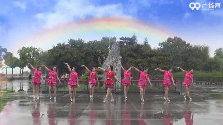 美久广场舞《送你一首吉祥的歌》原创舞蹈 附正背面口令分解教学演示