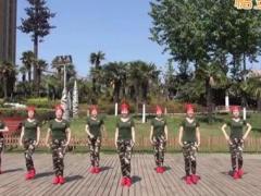 美久广场舞《想西藏》原创单人四步水兵舞 附正背面口令分解教学演示