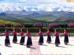 应子广场舞《雪域神话》原创舞蹈 附正背面口令分解教学演示