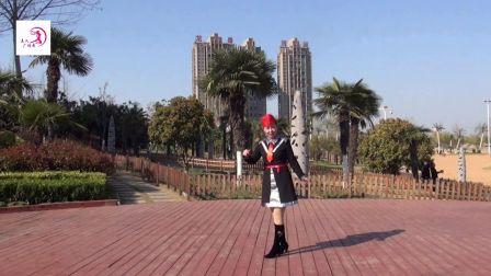 美久广场舞《蹦沙卡拉卡》原创舞蹈 附正背面口令分解教学演示