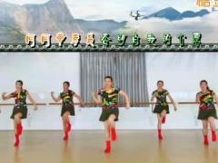 刘荣广场舞《海日特的马兰花》原创舞蹈 附正背面口令分解教学演示