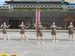 重庆叶子广场舞《最美的草原》原创水兵舞 附正背面口令分解教学演示