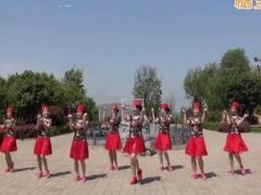美久广场舞《桃花姑娘》原创单人水兵舞 附正背面口令分解教学演示