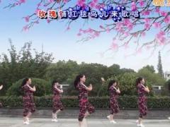 茉莉广场舞《来吧姑娘》原创健身舞 附正背面口令分解教学演示