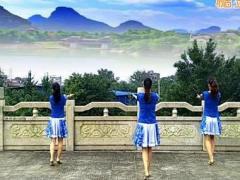 漓江飞舞广场舞《女人花开》原创舞蹈 附正背面口令分解教学演示