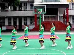 沅陵燕子广场舞《女人花开》原创32步子舞 附正背面口令分解教学演示