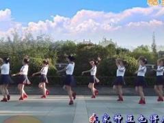 茉莉广场舞《八百里洞庭我的家》原创简单健身舞蹈 附正背面口令分解教学演示