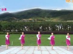 蘇州盛澤雨夜廣場舞《天邊的情歌》原創舞蹈 附正背面口令分解教學演示