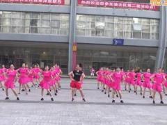 重庆叶子广场舞《拉拉爱》原创健身操 附正背面口令分解教学演示