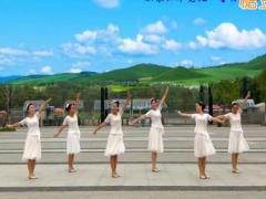 王梅广场舞《飞翔的翅膀》编舞王梅 附正背面口令分解教学演示