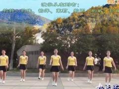茉莉广场舞《那里的山那里的水》原创入门舞蹈 附正背面口令分解教学演示