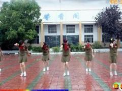 惠汝廣場舞《拉薩夜雨》原創單人水兵舞 附正背面口令分解教學演示