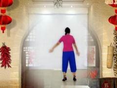王梅广场舞《飞翔的翅膀》原创舞蹈 附正背面口令分解教学演示