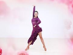 糖豆广场舞课堂《疯狂爱爱爱》编舞安安 附正背面口令分解教学演示