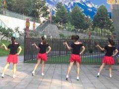 重庆叶子广场舞《DJ的歌》原创步子舞 附正背面口令分解教学演示