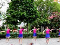 刘荣广场舞《分手你是为了她吗》原创舞蹈 附正背面口令分解教学演示