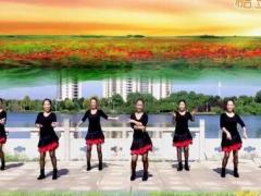 江西鄱阳春英广场舞《风雨醉情缘》原创舞蹈 附正背面口令分解教学演示