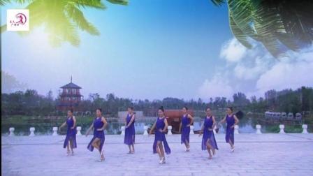 美久广场舞《温习》原创现代舞 附正背面口令分解教学演示