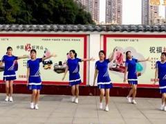 沅陵燕子广场舞《今生缘》原创健身操 附正背面口令分解教学演示
