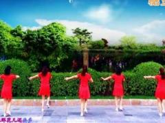 济南朵朵广场舞《花开的时候来看我》原创舞蹈 附正背面口令分解教学演示