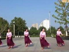 沭河之光广场舞《吉祥》原创藏族健身舞 附正背面口令分解教学演示
