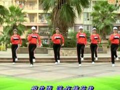 杨丽萍广场舞《相思桃花雨》原创动感瘦身现代舞 附正背面口令分解教学演示