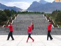 凤凰六哥广场舞《阿爸的草原》原创蒙古三步舞 附正背面口令分解教学演示