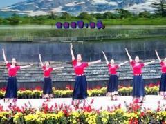 刘荣广场舞《维西谣》原创舞蹈 附正背面口令分解教学演示