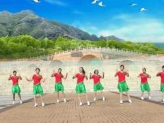 塔河蓉儿广场舞《十八年》原创舞蹈 附正背面口令分解教学演示